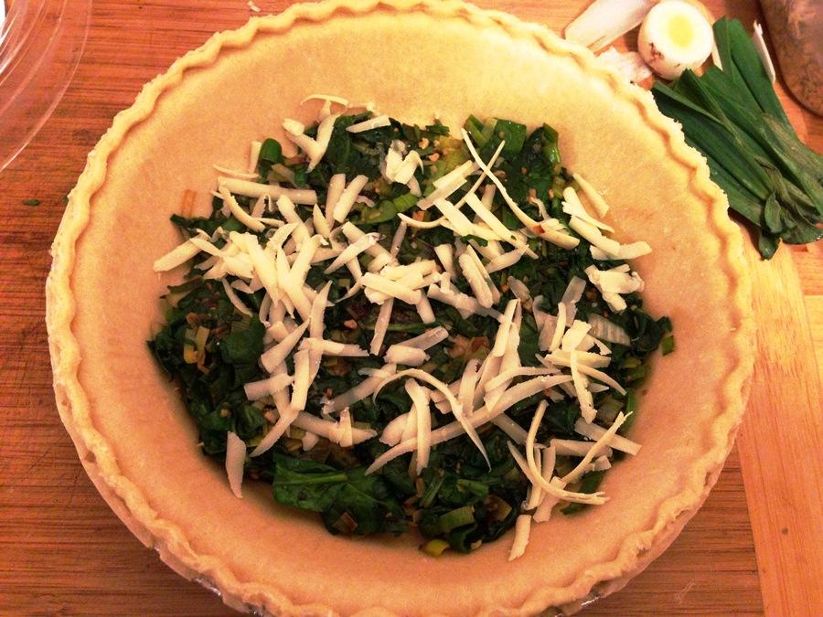 Butternut Squash, Spinach  Leek Tart « Brooklyn Locavore