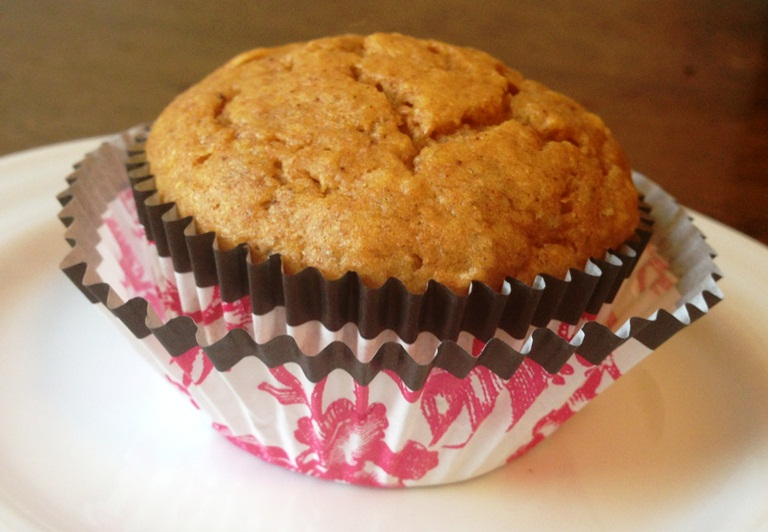 Boozy Banana Pumpkin Muffin