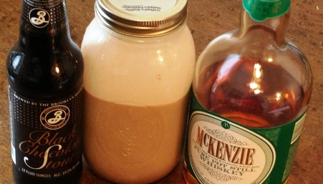 Stout, Irish Cream & Whiskey--Essential for St. Patrick's Day