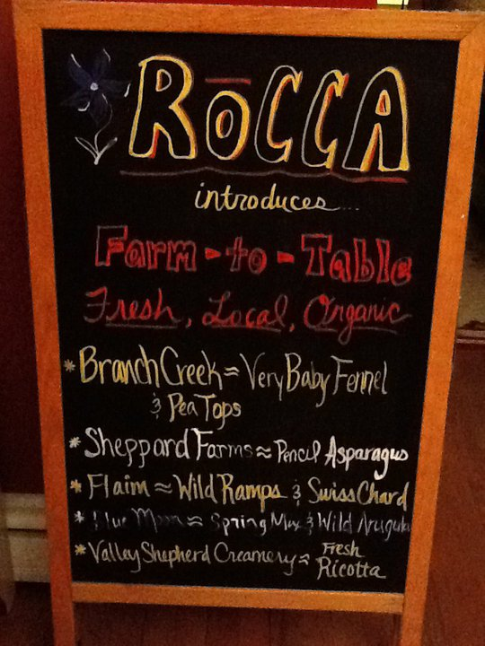Photo courtesy of Rocca's Facebook Page