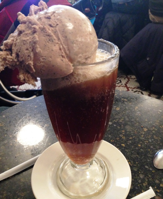 The Wake Up Call - Coffee soda with coffee ice cream