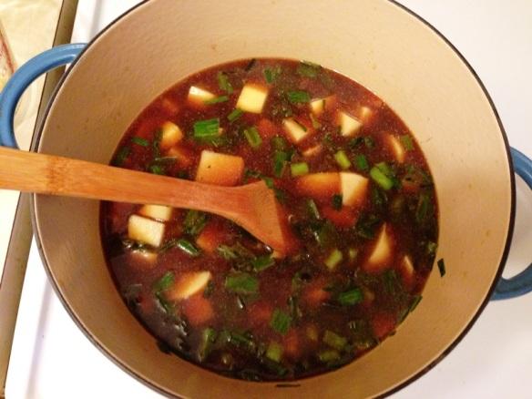 Green Garlic Potato Soup 2