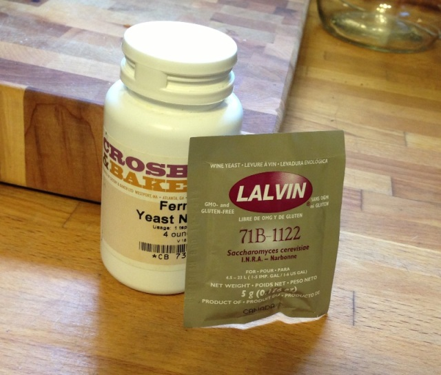 Yeast and Yeast Nutrient available at your Neighborhood Homebrew Shop