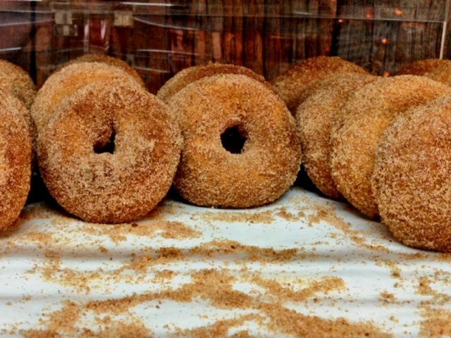 Cider Donuts--not produce but just as good!