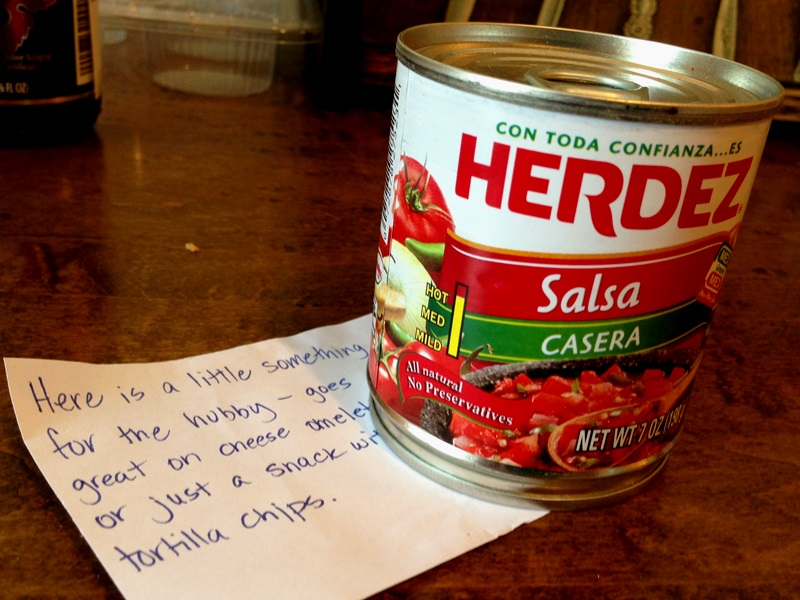 Salsa for hubby