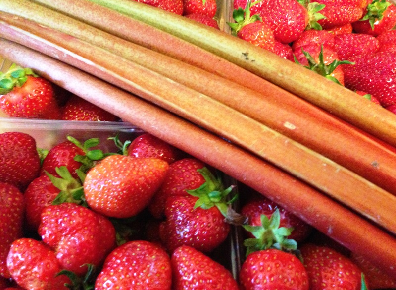 Strawberry Rhubarb Jam (1)