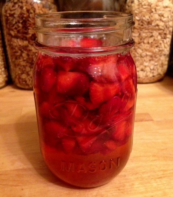 Strawberry Vinegar (2)