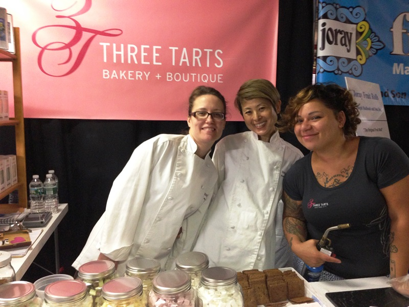 The lovely ladies at Three Tarts