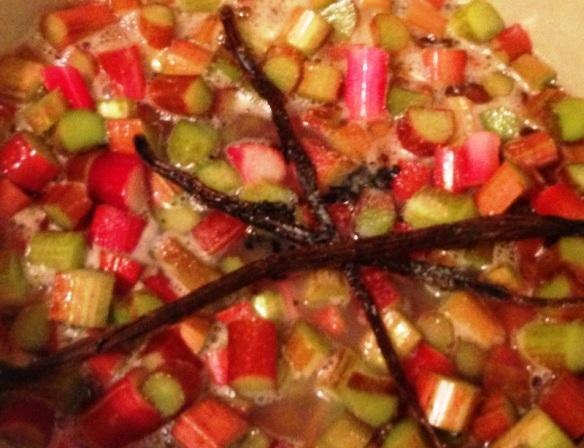 Vanilla Rhubarb Jam (2)