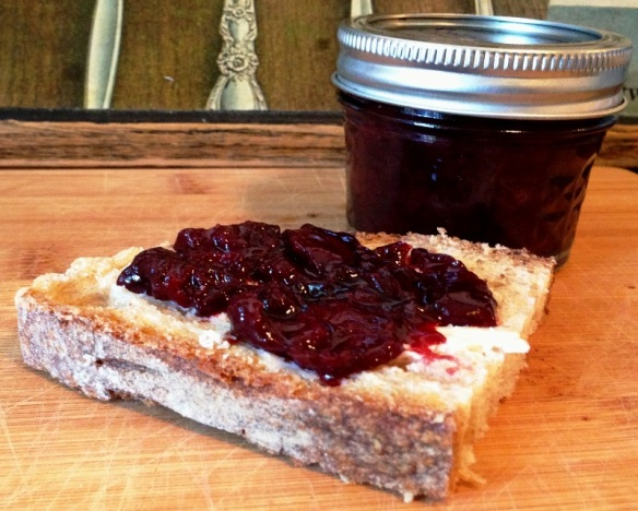 Balsamic Cherry Preserves