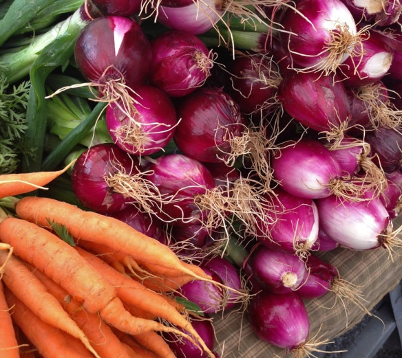 Carrots & Red Onions