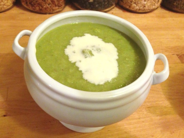 Chilly Pea Soup