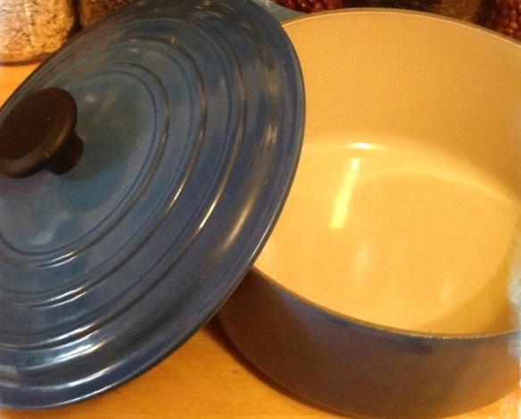 My two dutch ovens--3.5 and 6.5 quart