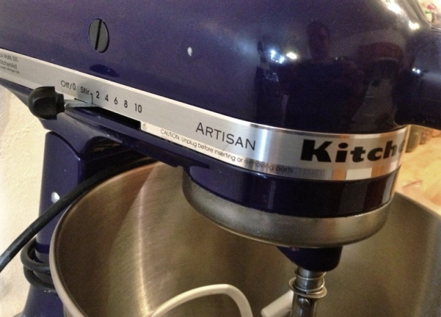 My KitchenAid--the most used appliance in our apartment