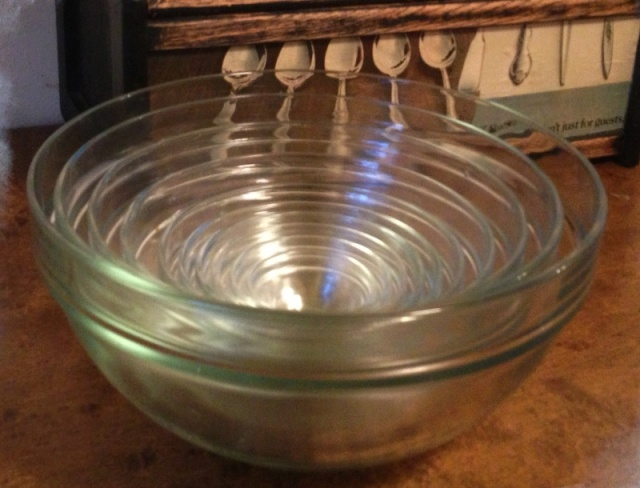 Nesting bowls and yes I use ALL of them.