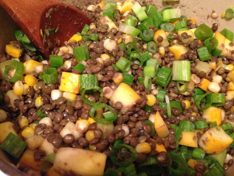 Summer Squash Lentils (2)
