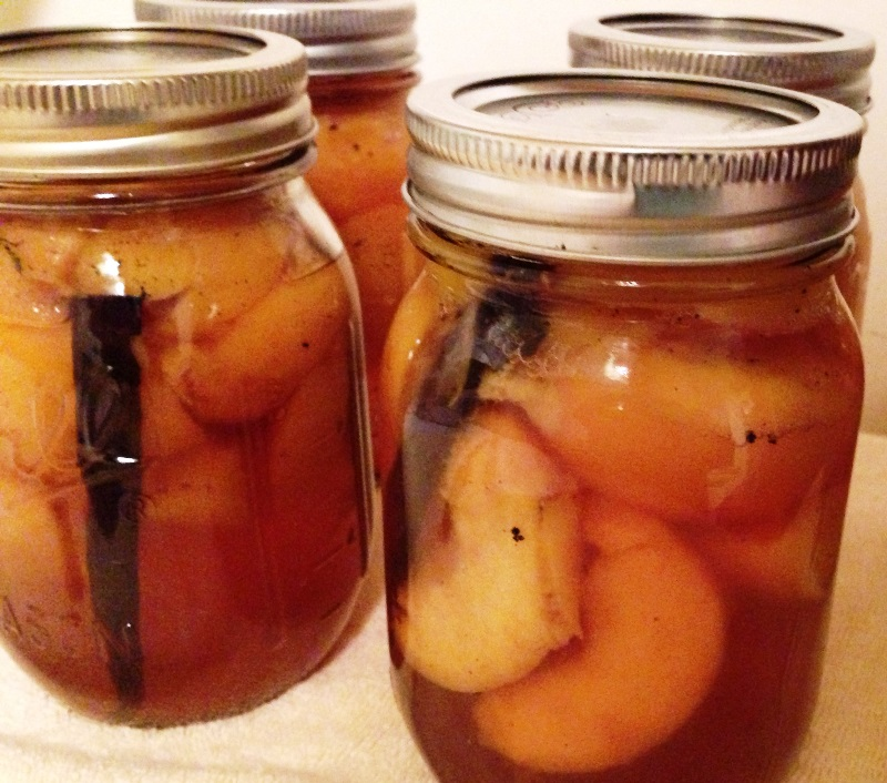 Vanilla Bourbon Peaches (1)