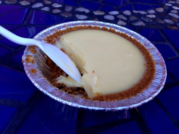And of course no visit to the beach is complete without some key lime pie!