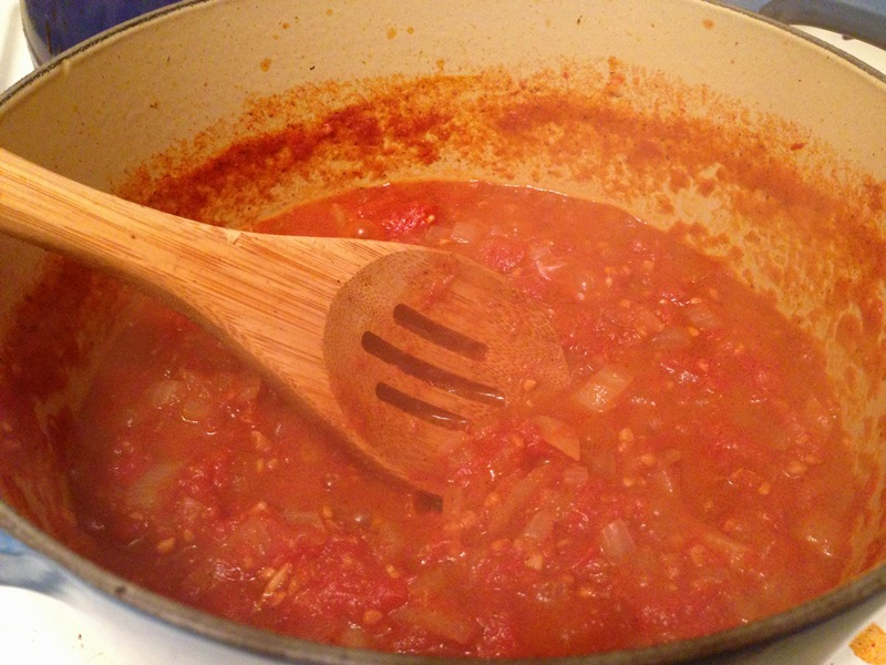 Tomatoes Masala Sauce