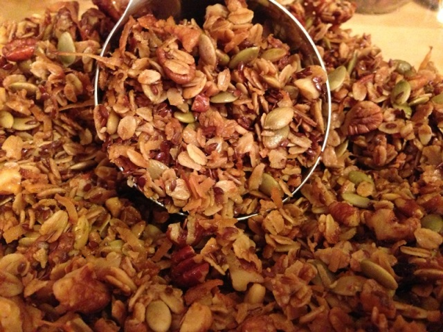 Maple Olive Oil Granola
