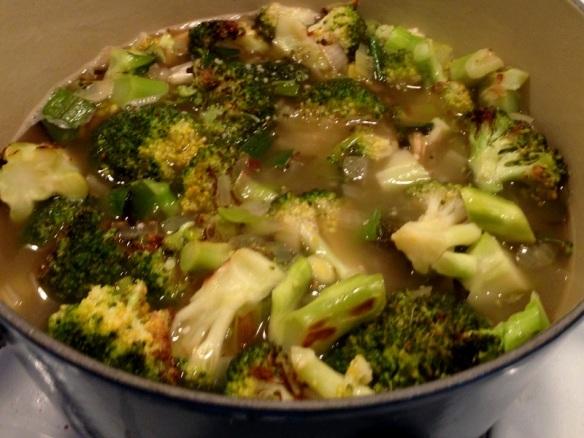 Roasted Broccoli Soup (2)