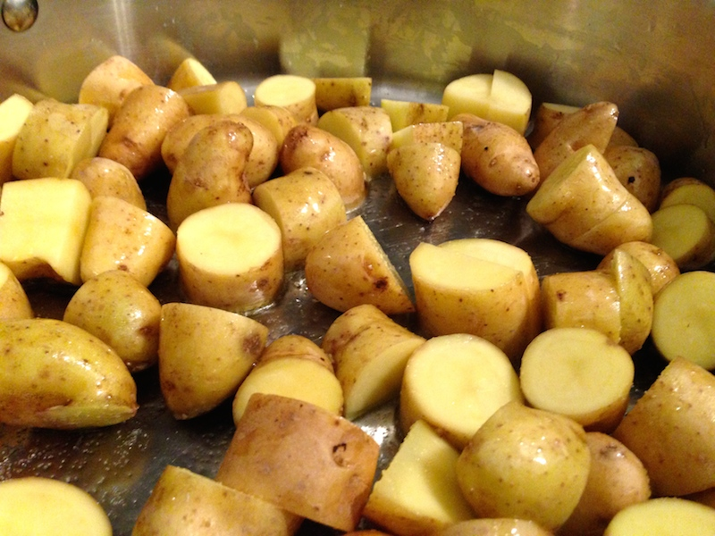 Fingerling Potaotoes