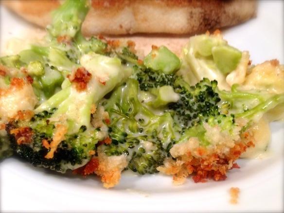 Cheesy Broccoli Gratin