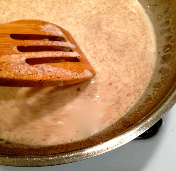 Lemon Cream Sauce for Halibut