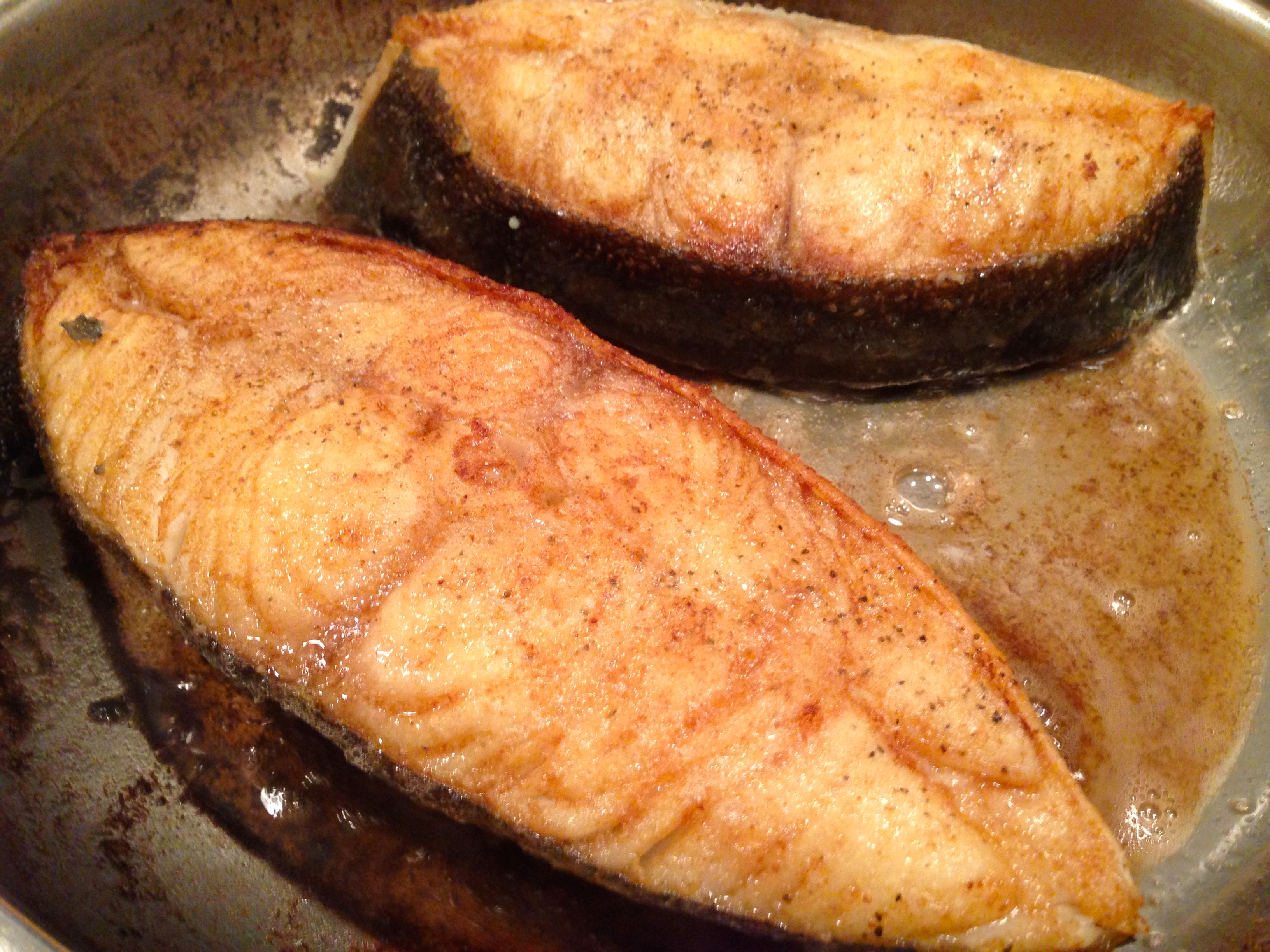 Halibut Fish Cooked
