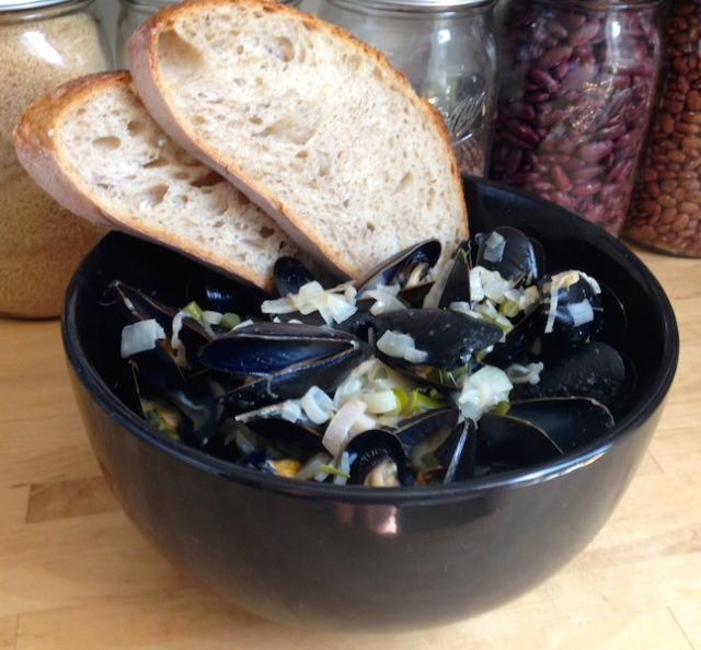 Mussels White Wine Cream