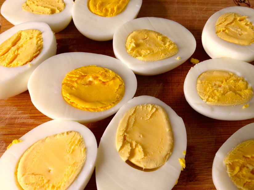 Beautiful Egg Yolks