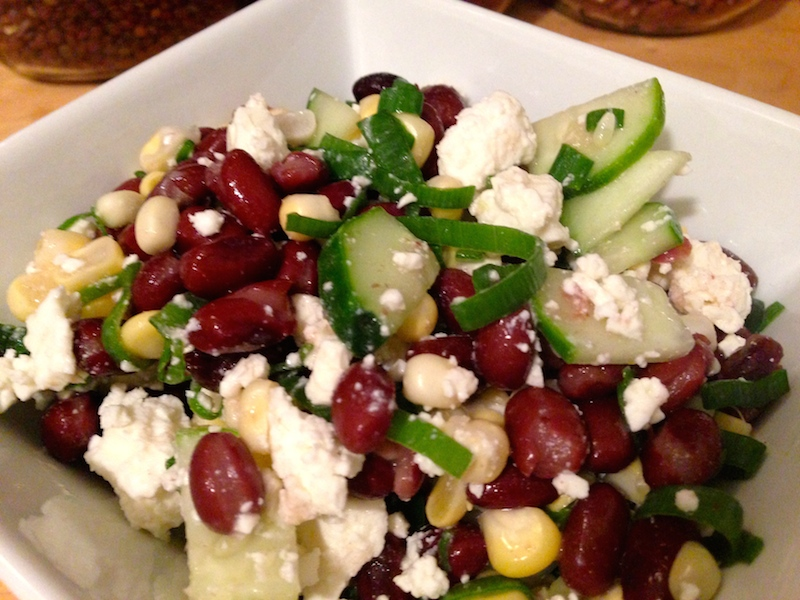 Black Bean and Corn Salad with Feta