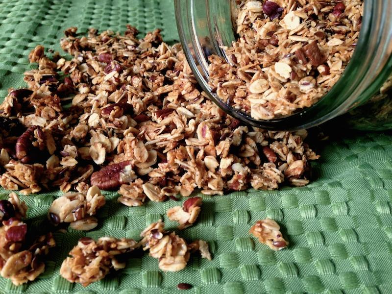 Coconut Chai Granola