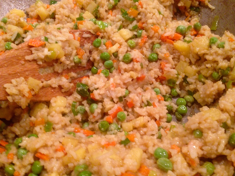 Coconut Fried Rice 1