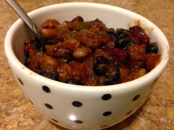 Slow Cooker Acorn Squash Chili
