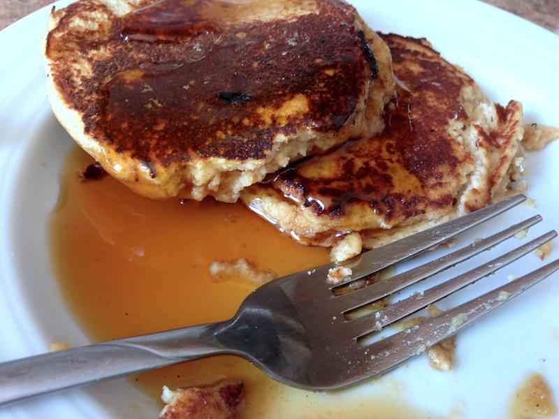 Coconut Flour Pancakes