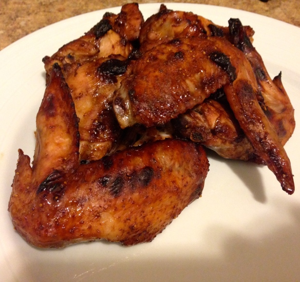 Jammy Baked Wings